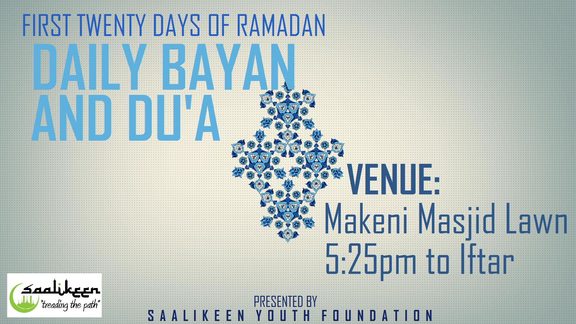 Daily Bayan Event